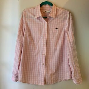 Vineyard Vines gingham plaid shirt